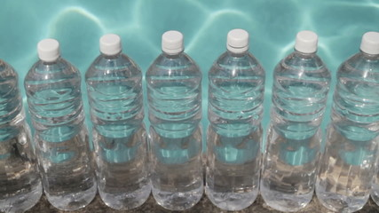 Water Bottles Liquid Background