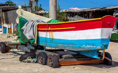Barco fora d'água