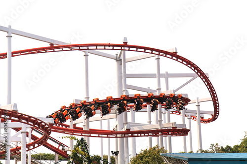 Roller Coasters loops - 80430849