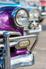 Beautiful old cars in Havana