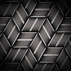 Metal weave texture background