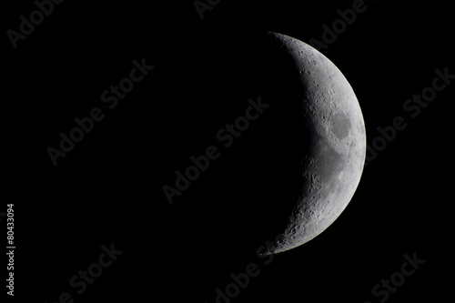 Fototapeta Waxing Crescent Moon