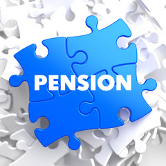 Pension on Blue Puzzle.