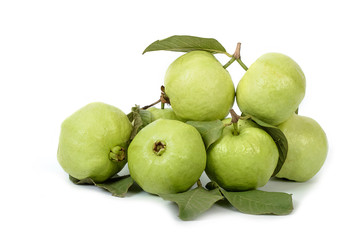 Group of guava fruit,tropical fruit