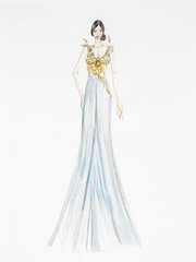 evening gown concept