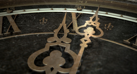 Antique Clock Macro