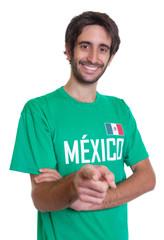 Sympathischer Mexiko-Fan mit Bart