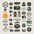 Vector photography logo templates and logotypes collection - 80438442