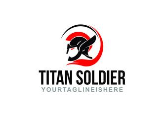Titan Souldier - Logo Template