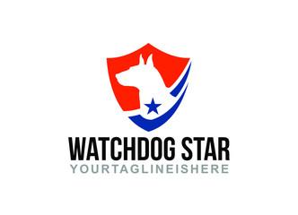 Watchdog Star - Logo Template