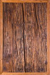 Holzhintergrund mit Rahmen