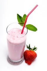 Milk shake fraise