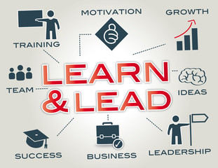 Learn and Lead Infographic
