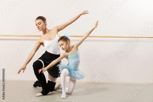 fototapeta na ścianę Balet klasy w studio