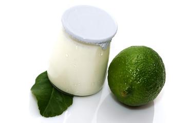 Yaourt citron vert