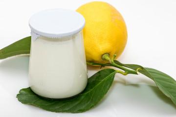 Pot  yaourt  citron