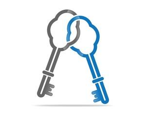 Cloud Key Vector
