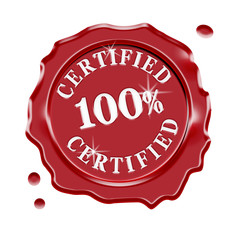 Certified Quality Guarantee Warranty