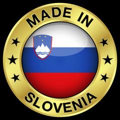 Slovenia Made In Badge