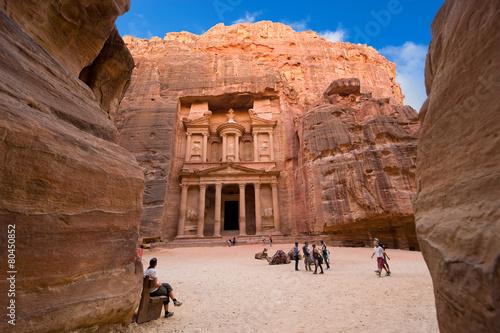 Deurstickers Midden Oosten Petra in Jordan