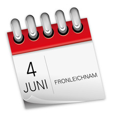 4 Juni 2015 Fronleichnam Kalender
