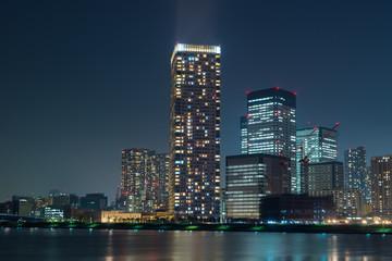 豊洲公園からの夜景