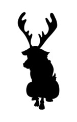 Reindeer Animal Shape