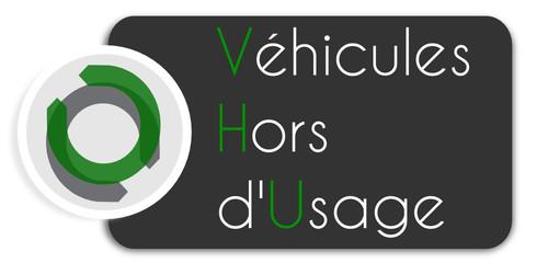 Etiquette VHU logo
