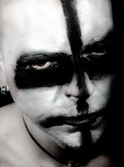 homme, maquillage horreur