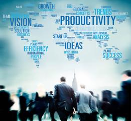 Productivity Vision Idea Efficiency Growth Success Solution