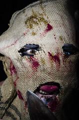 homme, masque et horreur