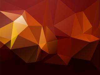 modern beautiful red yellow brown triangular background