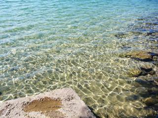 Klares Wasser am Uferbereich - Kulkwitzer See