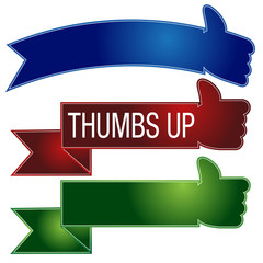 Thumbs Up Banner Set