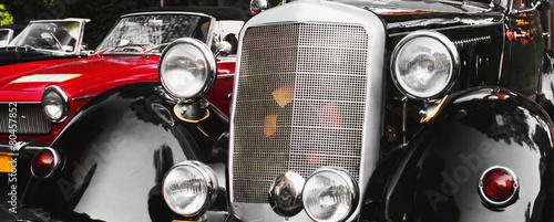 Papiers peints Vintage voitures Retro Car fragment