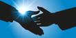 Poignée de main, symbole de l'alliance et le partenariat pour réaliser avec succès un projet commun - 80460617