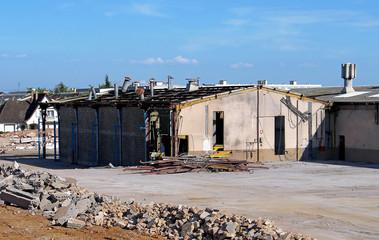 usine en démolition