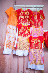 local dress for children in Viet Nam