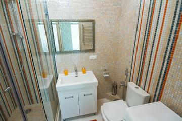 Luxury bathroom shower