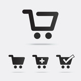 Shopping Cart Icons - 80462686