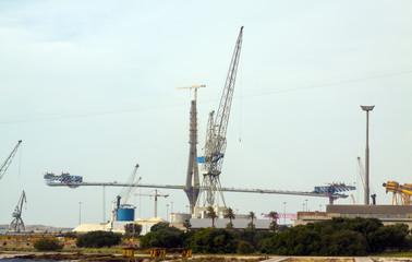 Construction process of La Pepa Bridge