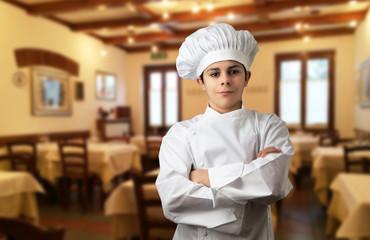 cuoco al ristorante