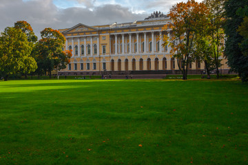 The Mikhailovsky Garden and Mikhailovsky Palace