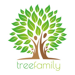 Tree family logo