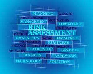 Risk Assessment 3d word concept