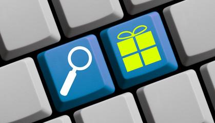 Geschenke online suchen, finden und bestellen