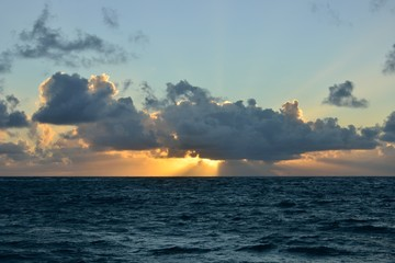 Spectacular Caribbean sunset