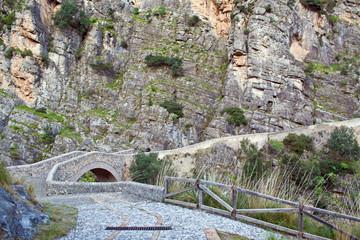 Ponte del Diavolo -Civita (Cosenza)- Italy