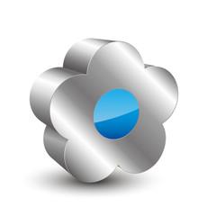 Flower 3d icon