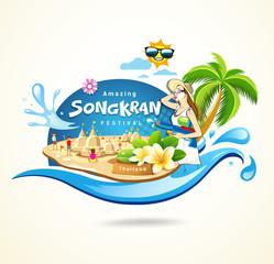 Amazing Songkran Festival in Thailand